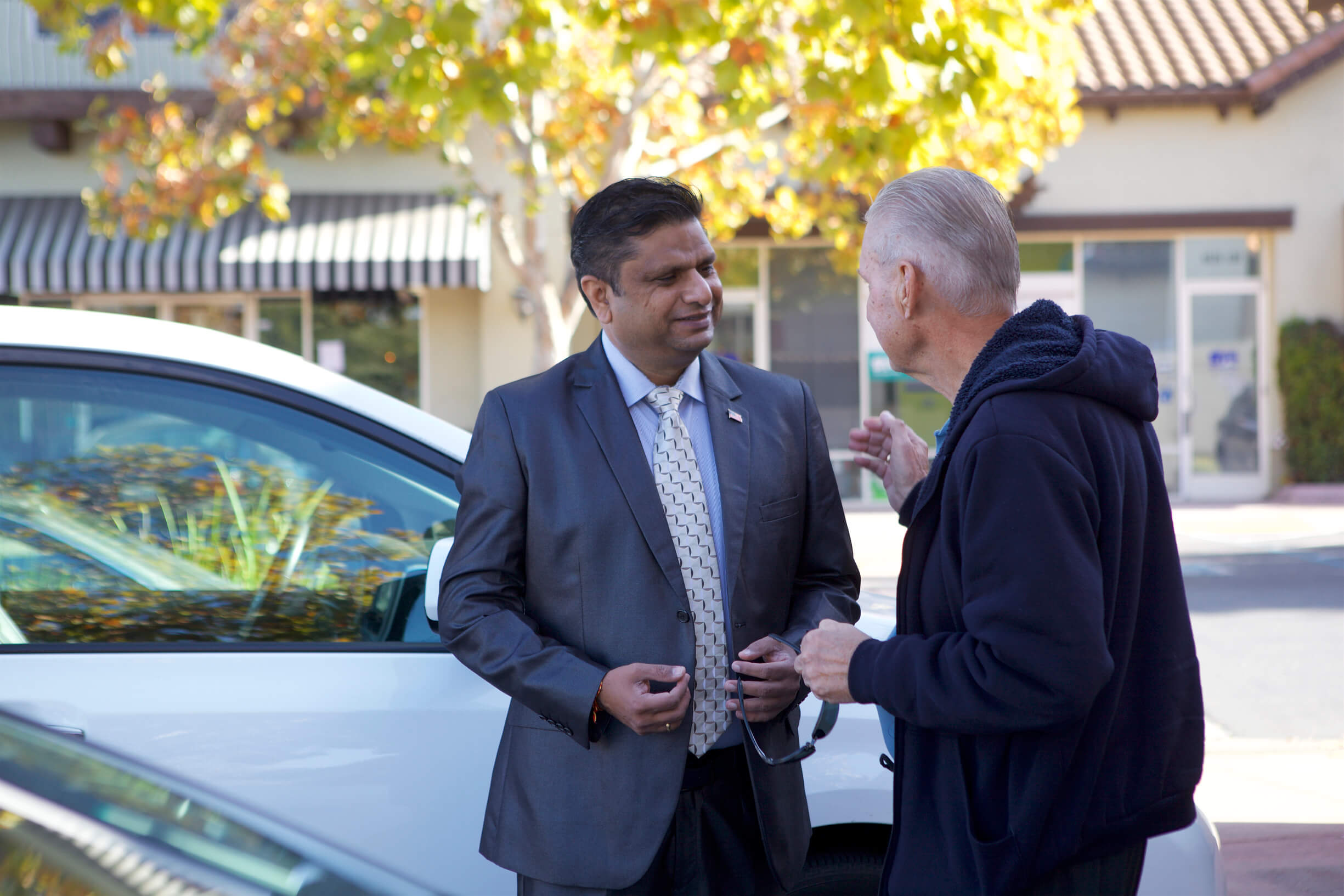 Ritesh Tandon in California Election