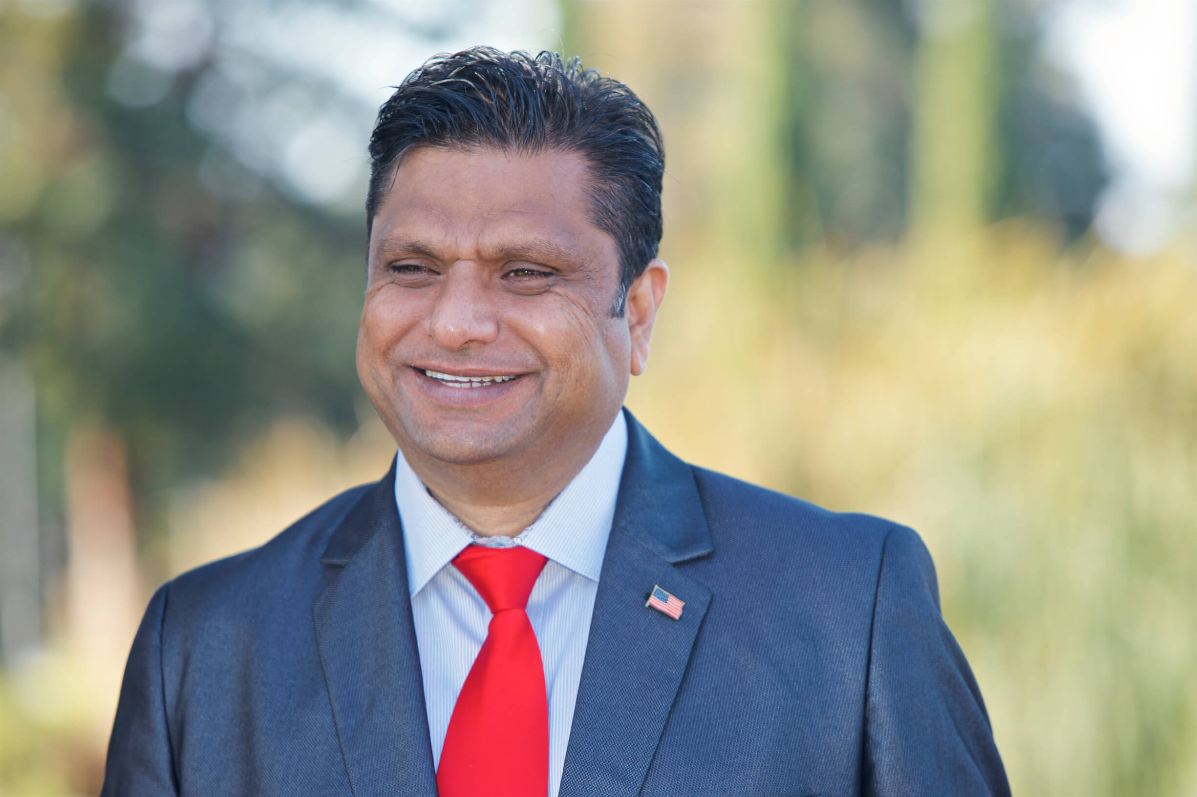 Ritesh Tandon Campaign Announcement